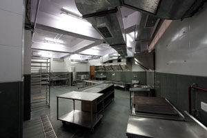 A Kitchen at Najam Baug