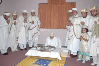 Family Members at Syedna's (TUS) Thaal